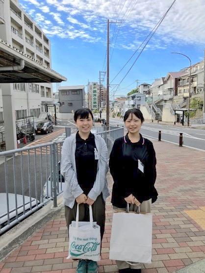 神戸徳洲会訪問看護ステーションで実習させていただいた学生